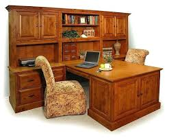 Dual furniture Wood Full Size Of Double Desks Home Office Pedestal Sided For Peninsula Desk Decorating Ideas Furniture Exciting Ubceacorg Double Desks Home Office Sided For Pedestal Workstation Desk