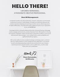 Cover Letters Templates 10 Cover Letter Templates And Expert Design Tips To Impress