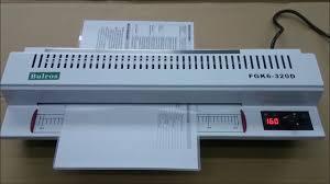 Пакетный ламинатор <b>Bulros FGK6 320D</b> - YouTube