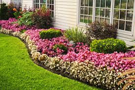 Small Picture Flower Bed Ideas Garden Ideas