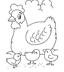 Lets pick up colored pencils, take b/w drawings of animals and… lets go! Top 10 Free Printable Farm Animals Coloring Pages Online