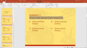 Free Interactive Ppt Templates Quiz Bee Powerpoint Template With Timer Free Download