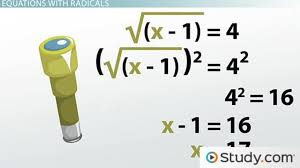 solving radical equations steps and examples lesson