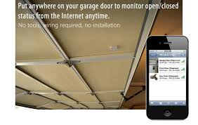 open garage door with iphoneMonitor and Find Everything from the Internet  Wireless Sensor Tags