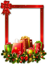 christmas present borders and frames. Delighful And Clip Art Black And White Presents Transparent Red Large Png Photo Frame  Clipart Freeuse Library Christmas Border  Inside Present Borders And Frames W