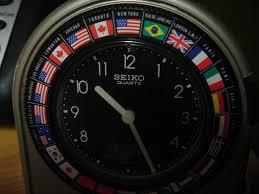 seiko world travel alarm clock