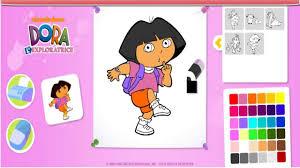 Dora L Exploratrice Jeu Coloriage En Ligne Dora Fran Ais Hd Youtube