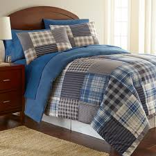 micro flannel smokey mountain plaid 3 piece twin comforter set mfncmtwsmp the home depot