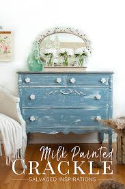makeover furniture. Milk Painted Crackle Paint Finish Txt - Salvaged Inspirations Makeover Furniture