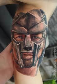 Tetování Gladiátor Tetování Tattoo