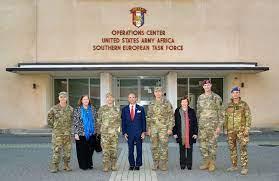 DVIDS - Images - Ambassador Lewis M. Eisenberg, American Ambassador to  Italy, visits at Caserma Del Din, Vicenza, Italy [Image 1 of 4]