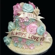 Wedding Anniversary Cake 40th Wedding Anniversary Cake Designs