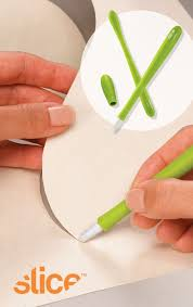53 best Quilting tools images on Pinterest   Quilt block patterns ... & Slice Precision Cutter with micro-ceramic blade. Designed by Karim Rashid. Adamdwight.com