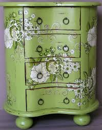 floral painted furniture. lock stock and barrel furniture floral painted a