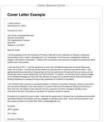 Example of cover letter application letter Domov