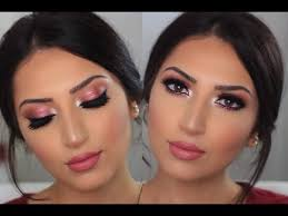 sparkly pink glam makeup tutorial
