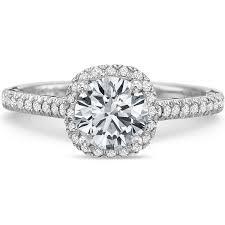 Prescision Set New Aire Setting For Cushion Shape Diamond In 18k