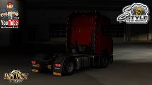 Scania Lights Ets2 V1 35 All Spoiler With S Lights For Scania Ng S And R V2