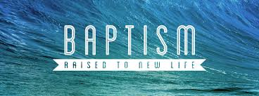Image result for water baptism