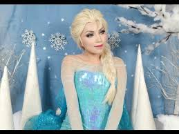 disney s frozen elsa makeup tutorial