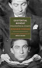 existential monday philosophical essays new york review books existential monday philosophical essays new york review books classics benjamin fondane bruce baugh 9781590178980 com books
