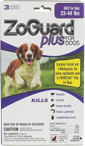 frontline plus ingredients. ZoGuard Plus For Dogs 3 Pk (23-44 Lbs) - Item # 42132 Frontline Ingredients N