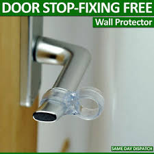 image is loading 4 wall protector fits on door handle per