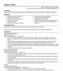 Communications Manager Resume Sample Resumes Misc LiveCareer Best Communications Manager Resume