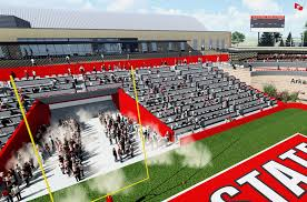 North Endzone Expansion Johnny Allison Tower Red Wolves