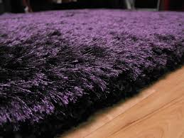 plush purple gy rug