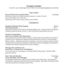 Resume For Bartender Resume Template For Internal Promotion Fresh Best Server Bartender Resume