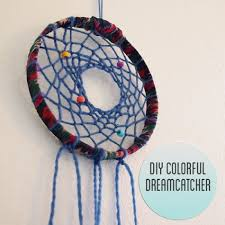 How To Make A Simple Dream Catcher How to Make a Colorful Dreamcatcher DIY Pinterest Dream 15