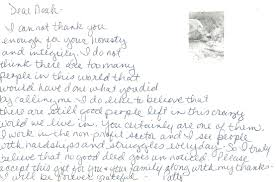 Sample Handwritten Thank You Card After Interview Cover Letter