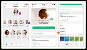 Jive Org Chart Mobile Intranet App For Employee Communication Jive