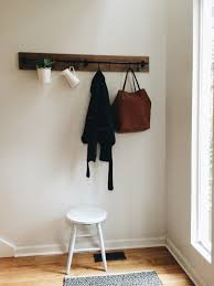 Ikea Coat Rack IKEA Fintorp hack two racks reclaimed wood = mixedmaterials coat 21