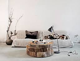 stacked tree trunk coffee table branch pot rack awesome tree trunk table 1