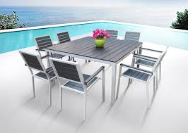 Aluminum Outdoor Dining Table Mango Home 9 Piece Patio Dining Set Review Best Patio Dining Sets