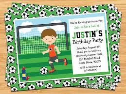 Soccer Party Invitations Soccer Party Invitations Soccer Party Invitations And Your New Party