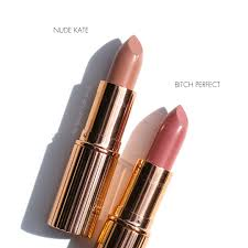 The Beauty Look Book Charlotte Tilbury Neutral Nude Pink Lip.