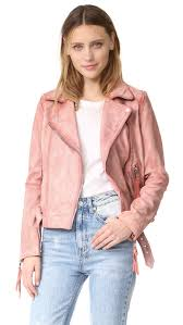 free people pink leather moto jacket women clothing jackets coats free people models largest fashion
