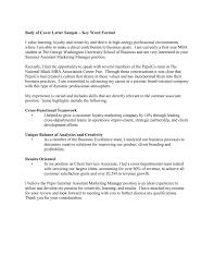Assistant Marketing Manager Cover Letter Keyword Format Cover Letter Sample