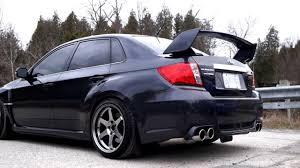 2011 Subaru Impreza WRX STi - Invidia Q300 Exhaust - YouTube