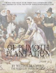 on plimoth plantation of plimoth plantation by william bradford book cover