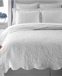 Martha Stewart Collection Whisper Leaves White Quilts (Only at ... & Martha Stewart Collection Whisper Leaves White Full/Queen Quilt (Created  for Macy's) - Quilts & Bedspreads - Bed & Bath - Macy's Bridal and Wedding  Registry Adamdwight.com