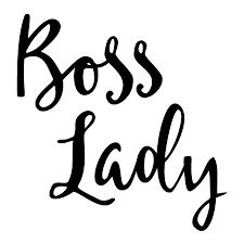 Boss Lady Quotes Awesome Boss Lady Handwritten Wall Quotes™ Decal WallQuotes