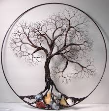 wire tree of life ancient spirit sculpture with natural calcites original art wall hanging decor by bella white on wire tree sculpture wall art with image result for tree like sculptures urban design planning