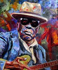 debra hurd john lee blues jazz guitar art fine art paintings