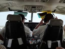 Reicht Mein Treibstoff Das Tun Piloten Während Des Fluges Reisen