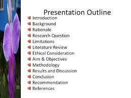 Basic Proposal Outline      Title page     Abstract     Introduction     Literature  review     Methodology     Expected results     Ethical issues     Timeline     SlidePlayer