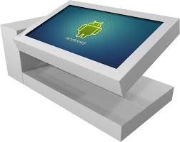 Computer Coffee Table La Table Kineti Touch Screen Coffee Imboldn Gia Thippo
